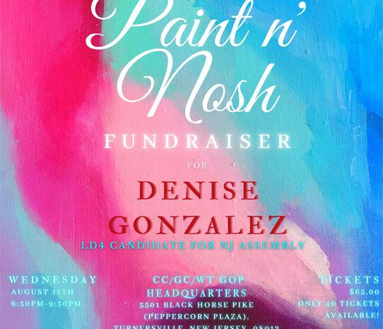Paint n Nosh Denise Gonzalez Fundariser