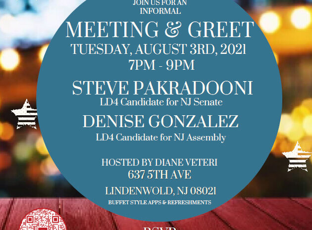 Meet n Greet Steve Pakradooni Denise Gonzalez Fundariser